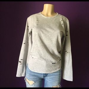Galaxy By Harvic Women's Gray Size L Top